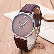 Reloj mujer 2016 top selling generve quartz ladies relógio de pulso casual simples dial relógios para homens mulheres de alta qualidade pu couro