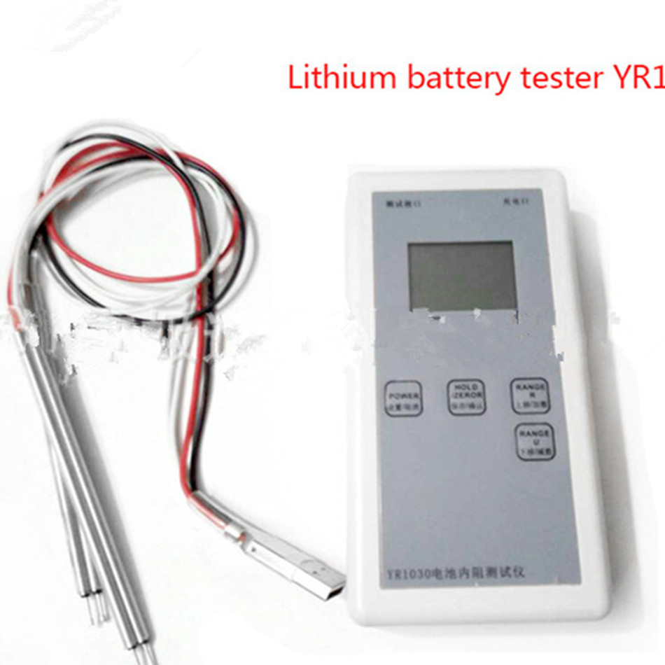 YR1030 Battery Internal Resistance Meter Tester For Lead-acid Lithium Nickel Cadmium Nickel-metal Hydride battery capacity tester resistance testing mobile power lithium lead acid battery can be 18650 serial line 20w page 9