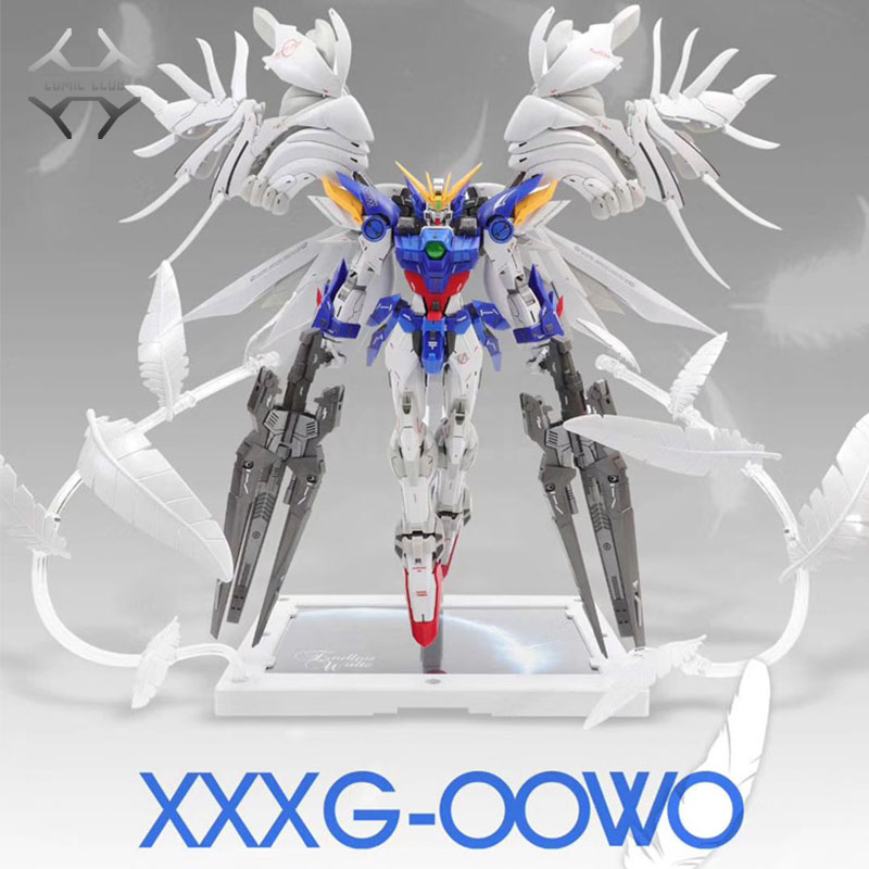 Image 3 - COMIC CLUB INSTOCK first edition MODLE HEART MG 1/100 wing gundam zero ew fix ver.  action assembly figure robot toyAction & Toy Figures   -