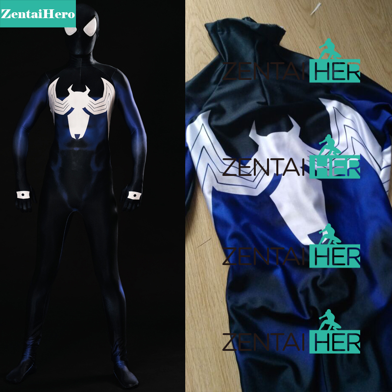ZentaiHero 3D Shade <font><b>Shattered</b></font> <font><b>Dimensions</b></font> Ultimate Spider-Man Costume Spandex <font><b>Spiderman</b></font> Superhero Costume For Halloween Party