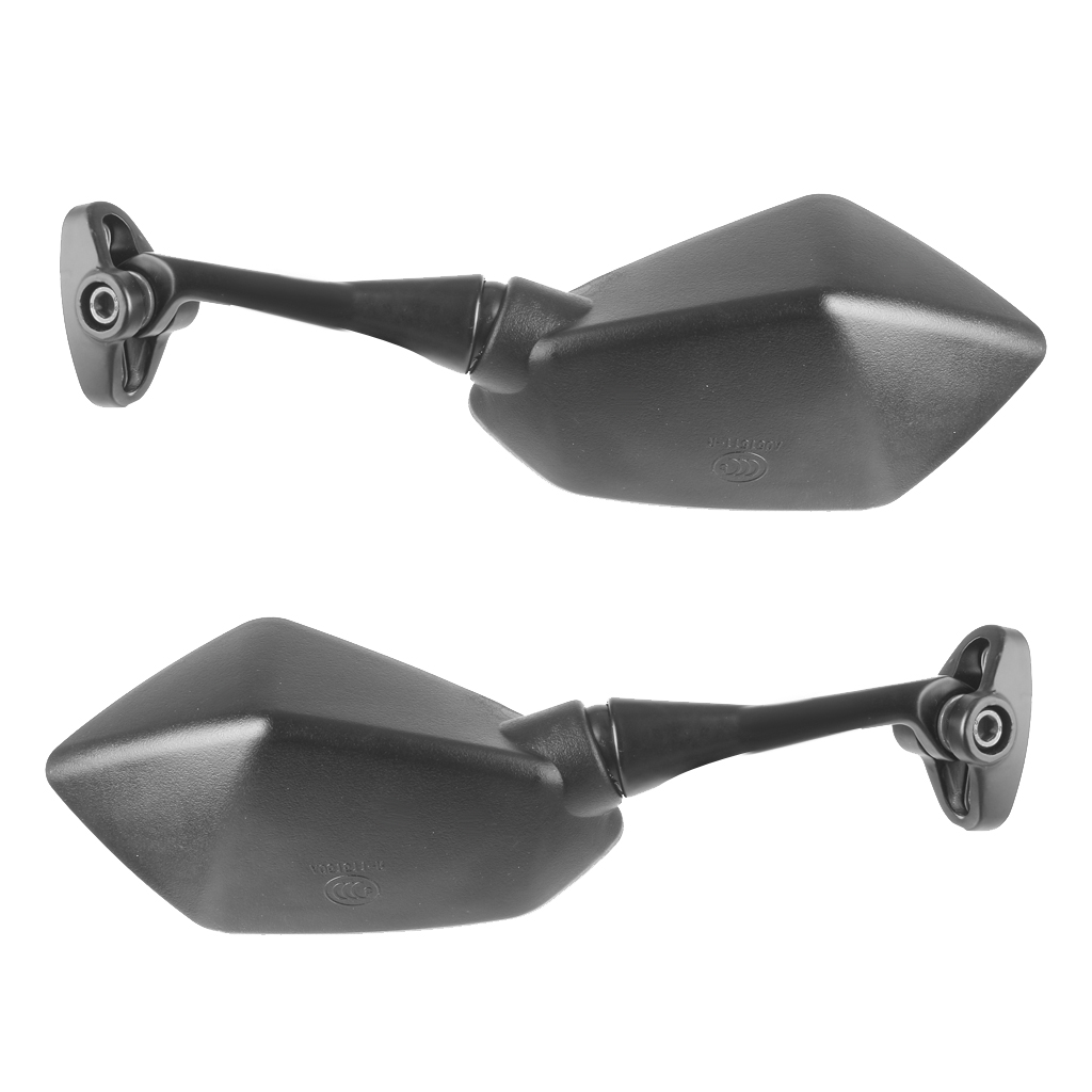 Image 2 - 1 Pair Universal Motorcycle Rearview Handlebar Mount Rear View Mirrors 6.3 x 3.5 Inch Back View Mirror Reduce Blind Spot-in Side Mirrors & Accessories from Automobiles & Motorcycles