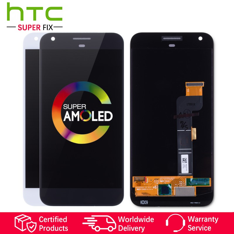 5.0AMOLED Original Display For Google Pixel LCD Touch Screen Digitizer Replacement for Google Pixel 1 Display HTC Nexus S1 LCD