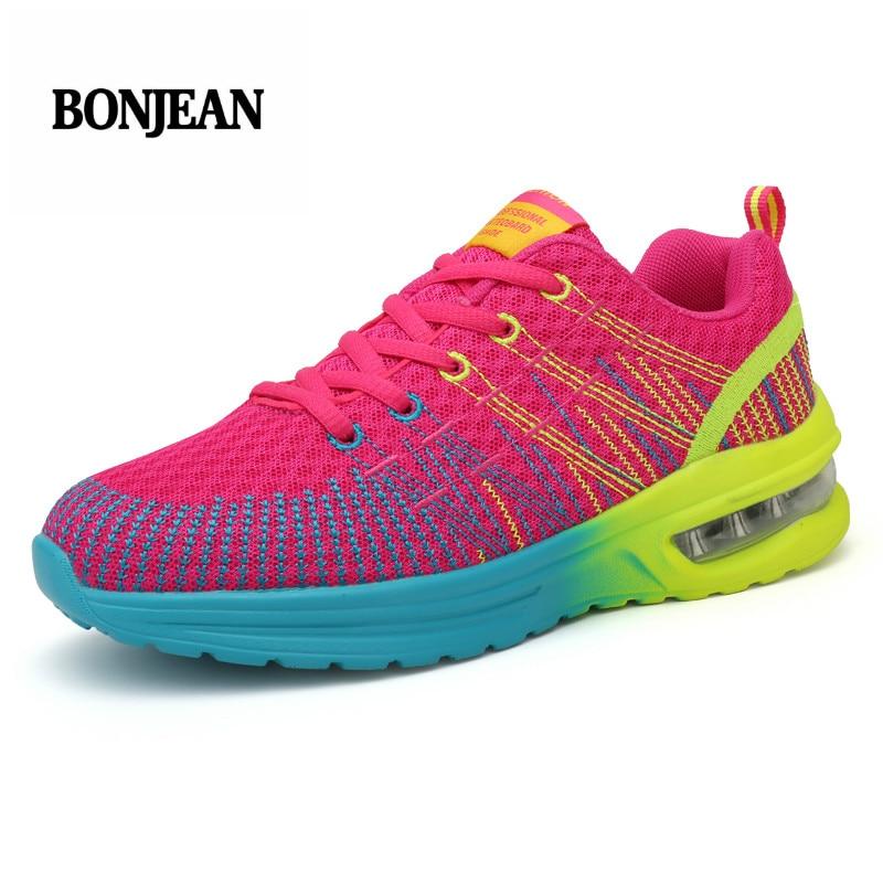 Tenis Feminino 2018 New Women Light Soft Gym Sport Shoes Women Tennis Shoes Female Stability Athletic