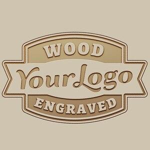 Возможно нанесение логотипа на бамбуковые деревянные часы, лазерная гравировка логотипа, OEM/ODM