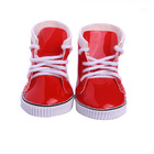 LUCKDOLL Red Lace-Up...