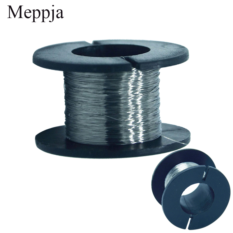2PCS/30meters 36g Nichrome wire Diameter 0.1MM kanthal-a1 DIY Manufacturing Heating wire as Transmission cable2PCS/30meters 36g Nichrome wire Diameter 0.1MM kanthal-a1 DIY Manufacturing Heating wire as Transmission cable