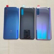 Ban Đầu Cho Xiaomi Mi 9 Mi9 Pin Cửa Lưng Nhà Ở Phía Sau Dành Cho Mi 9 SE 9SE Pin Cửa bộ Phận Thay Thế + Miếng Dán