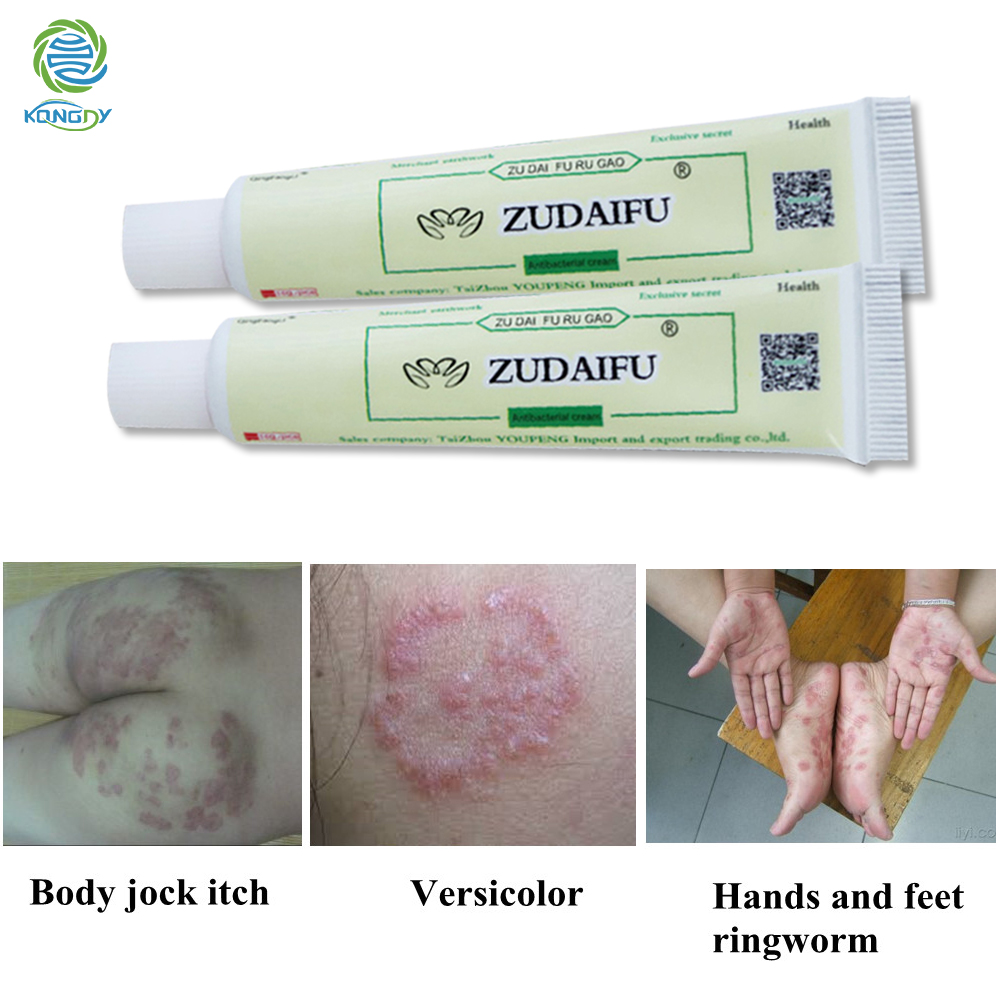 ZUDAIFU Psoriasis Cream Herbal Ointment Chinese Traditional Plaster 1Pcs Relieve Dermatitis Eczema Pruritus Treat Skin Disease image