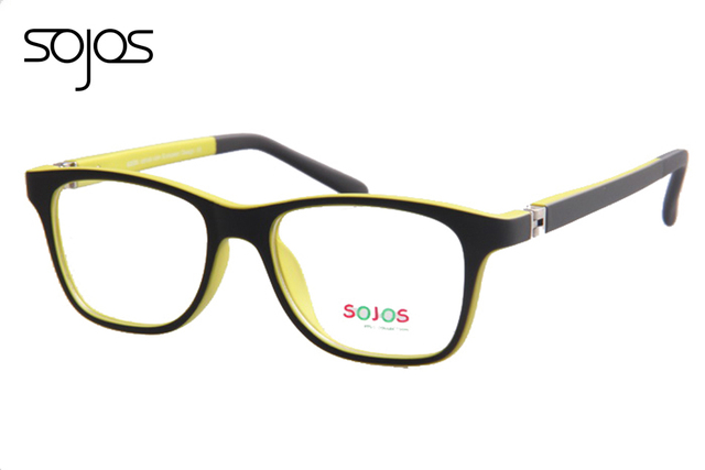 5ec2b00d84 Children Kids Boys Girls Optical Frames Lovely Generous Colorful double  color TR90 Material Eyeglasses Eyewear oculos