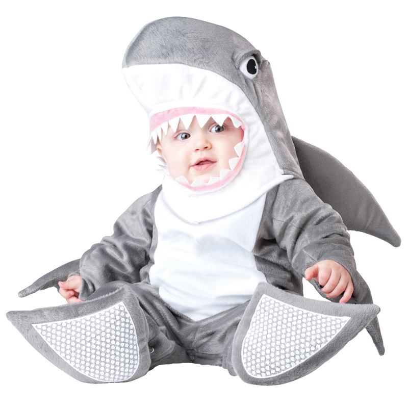 Baby Halloween Costumes | No So Scary Infant Silly Shark Unisex Baby Sea Animal Halloween Costume