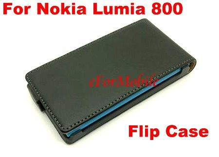 Free Shipping Genuine Leather Phone Case Cell Phone Case Leather Pouch  For Nokia Lumia 800