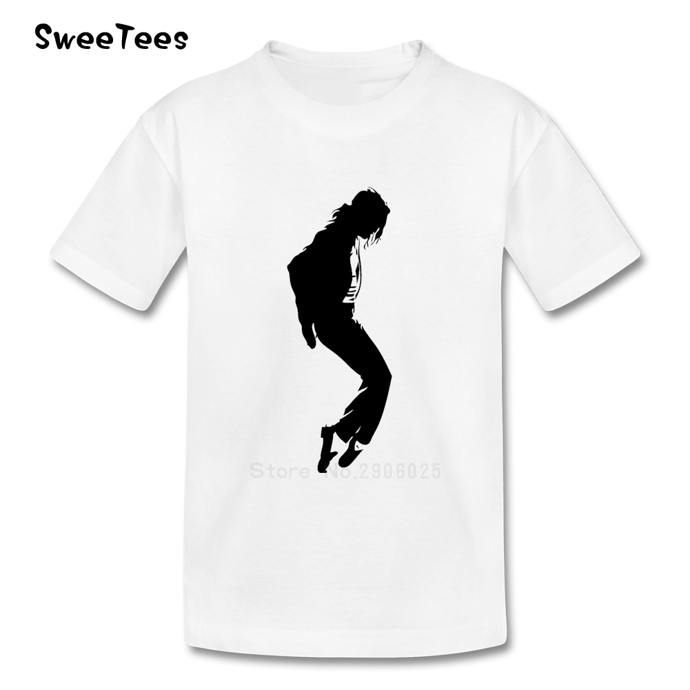 Black t shirt michaels - Michael Jackson T Shirt Kids 100 Cotton Short Sleeve Round Neck Tshirt Children Tops 2017