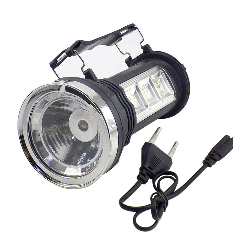 Portable Led lampe de Poche Solaire Puissance Chargeur batterie intégrée Torche À La Main lampe LED Lanterne Lumières pour Randonnée Pêche Camping