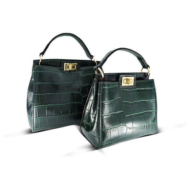 Crossbody bags for women New women Messenger bag crocodile leather mini cat shoulder bag handbag sac a main femme de marque