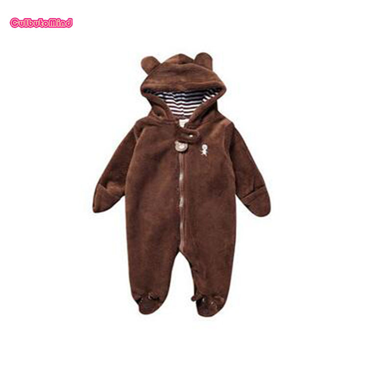 Newborn baby rompers Spring Autumn Baby boy clothes Jumpsuit Baby Girl animal Rompers Baby Warm Romper Newborn Clothes pajamas new newborn baby girl rompers pajamas long sleeve cotton romper clothes baby jumpsuit for babies animal infant boy girl clothing