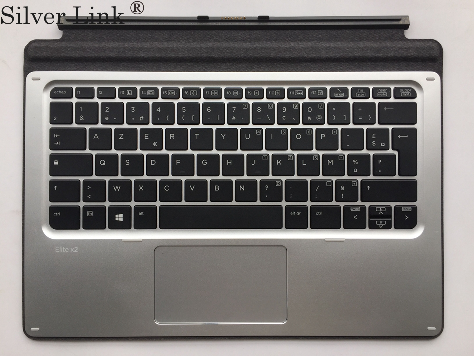 FR French Keyboard case  for hp Elite x2 1011 G1 Travel black French  Keyboard Case Cover laptop keyboard for acer silver without frame french fr v 121646ck2 fr aezqsf00110