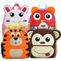 Children 3D Cute Animal Design Backpack Neoprene Toddler Kids School Bags Kindergarten Girls Boys Cartoon Schoolbag Giraffe Owl