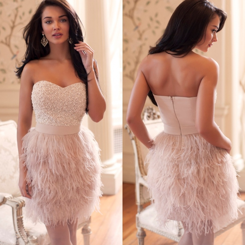 Compare Prices on Cheap Feather Dresses Short- Online Shopping/Buy ...