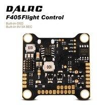 Контроллер полета DALRC F405 F4 с гироскопом MPU6000, поддержка работы по обновлению скорости 8K, Встроенный OSD, работает с 4 в 1 ESC