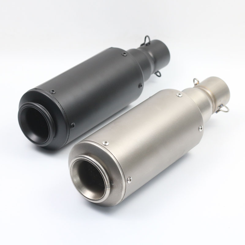 51MM Universal Motorcycle Dirt Bike Exhaust Muffler Escape GP Scooter Fit Most Motorbikes Exhaust AK200
