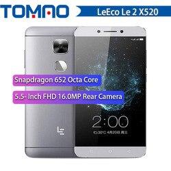 Sale! 100% Original Letv LeEco Le 2 X520 Snapdragon 652 Octa Core Mobile Phone 5.5