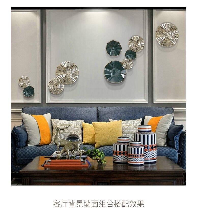 Европейское настенное украшение, железное настенное украшение, креативная спальня, трехмерное настенное украшение для гостиной, крыльца, настенное украшение