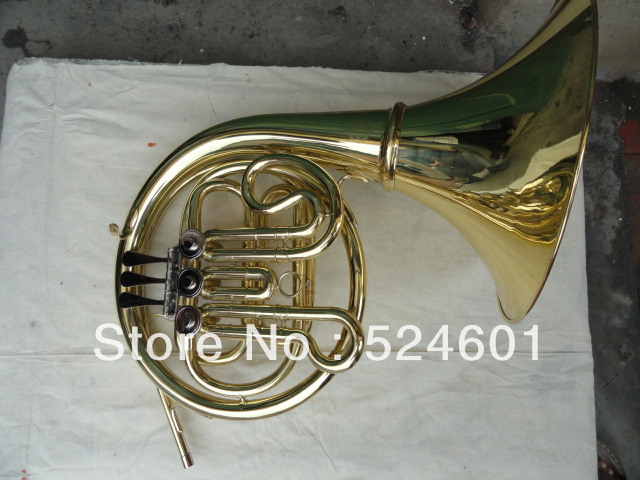 Beautiful gift  students French Horn single row 3 - Valves New & CaseBeautiful gift  students French Horn single row 3 - Valves New & Case