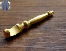 Solid Brass Making EDC Bottle Opener Screwdriver Keychain Key Pendant Tools