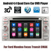 Quad Core 2 Din 7 Inch Car DVD Player For F Ord M Ondeo F