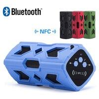 Беспроводной Bluetooth Динамик Портативный Водонепроницаемый NFC зондирования Super Bass стерео звук Динамик s + 3600 мАч банка для смартфонов Планшеты ...