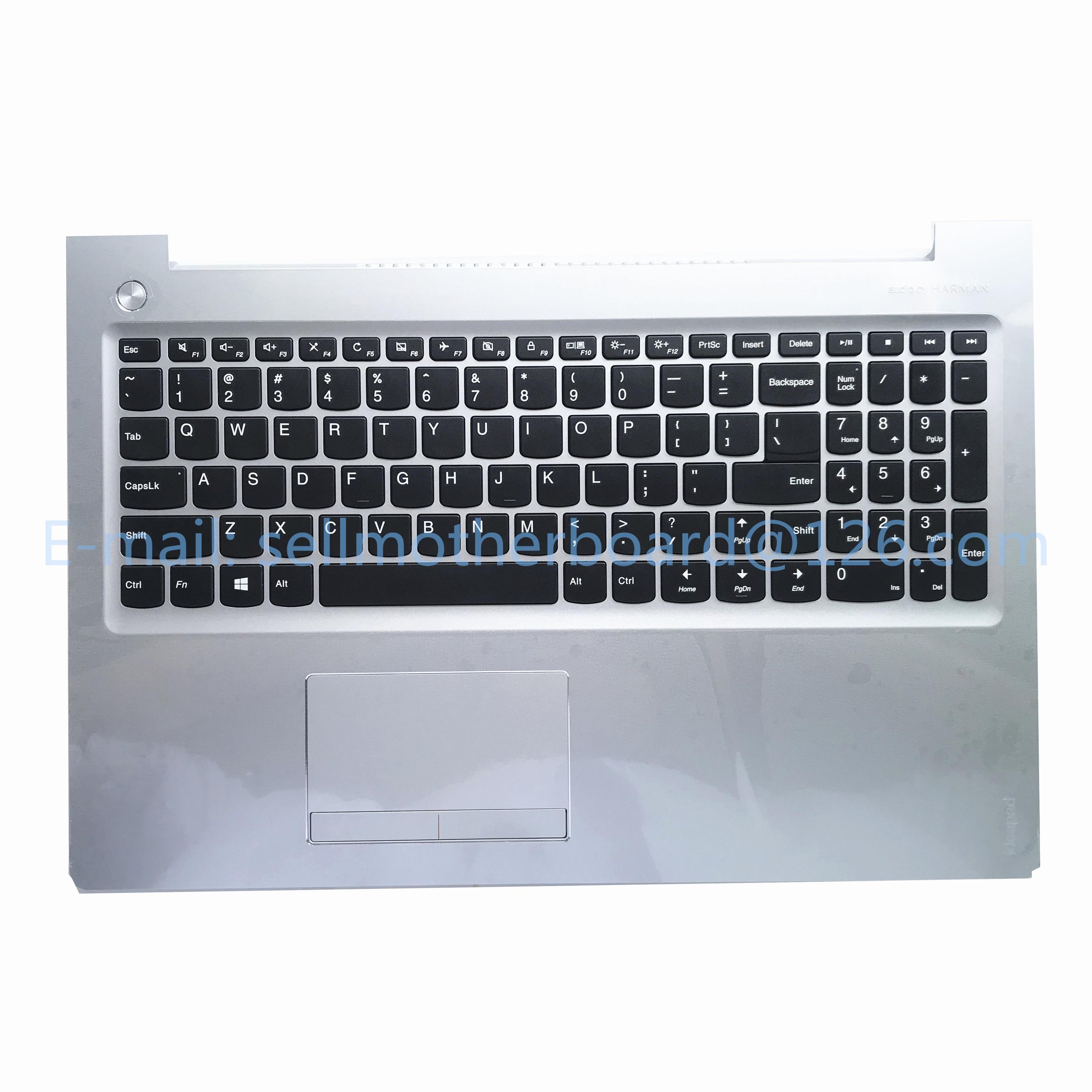NEW//Orig Lenovo IdeaPad U530 Upper case Palmrest keyboard bezel 90204089 W//US KB
