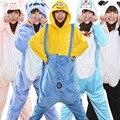 Jirafa Dinosaur Pikachu Stitch Anime Pijama de Dibujos Animados Homewear Pijamas Animal Onesies de Dormir Unisex Adulta Cosplay Caliente