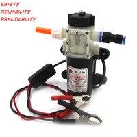 Профессиональный электрический 12 V масляный насос дизельное топливо моторное масло насос для перекачки Бесплатная доставка 1498