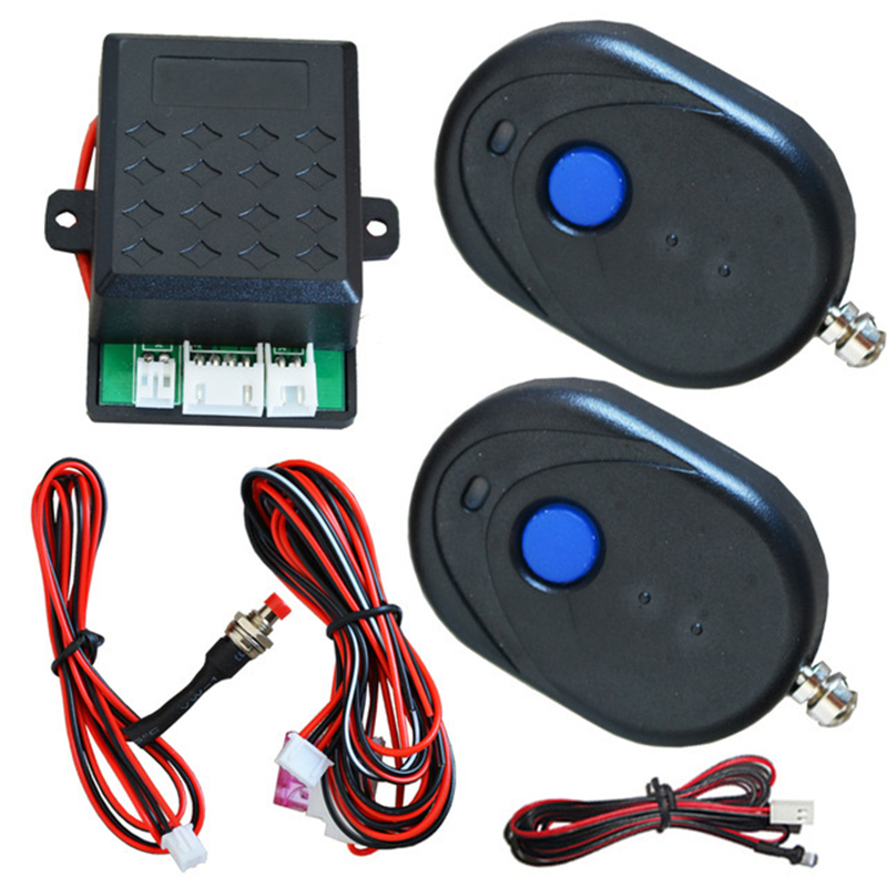 Car Immobilizer Anti Theft Auto Keyless Alarm with 2 Remote Controller protection system and cars alarma antirrobo auto