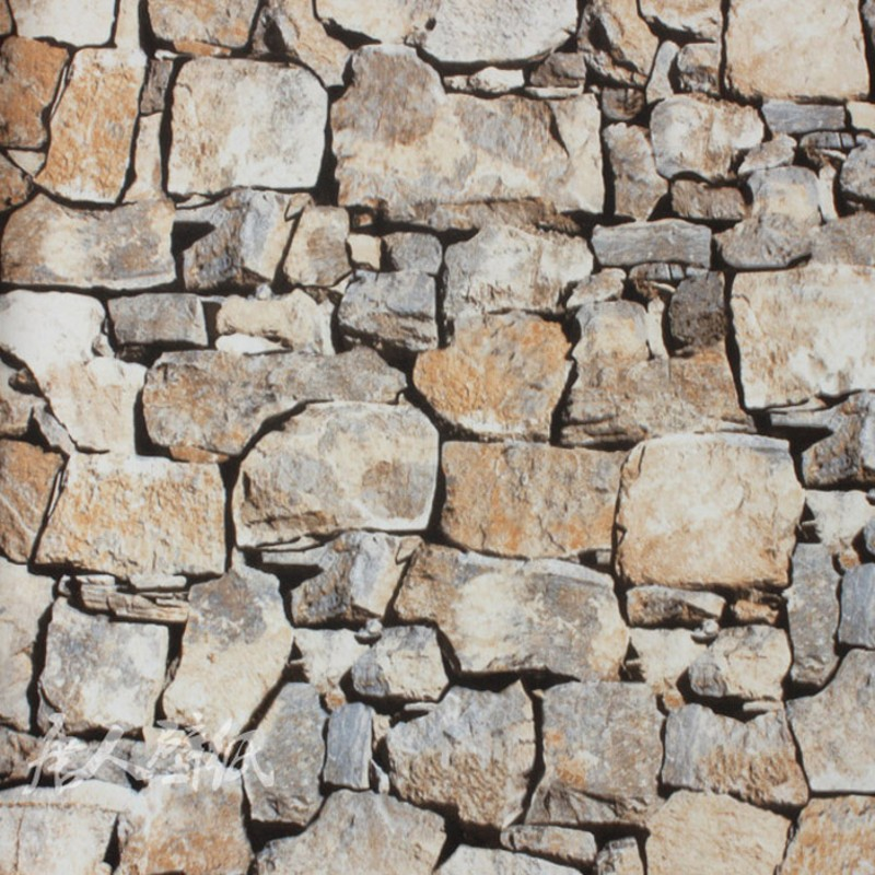 Pared imitacion piedra decoracion de ladrillo with pared - Imitacion piedra para pared ...