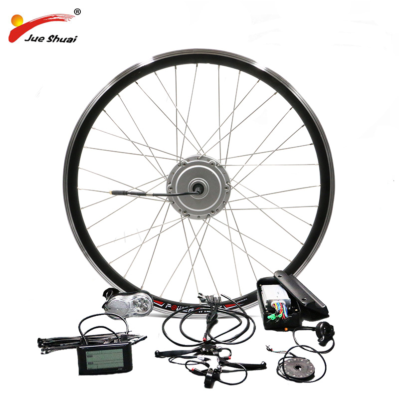 US $383 15 17% OFF|BAFANG 36V 48V 250W 350W 500W Motor Ebike Kit with Front  Hub Motor High Quality 8FUN Motor Bicycle Electric Bike Conversion Kit-in