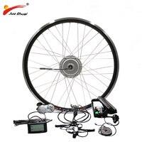 BAFANG 36V 48V 250W 350W 500W Motor Ebike Kit with Front Hub Motor High Quality 8FUN Motor Bicycle Electric Bike Conversion Kit