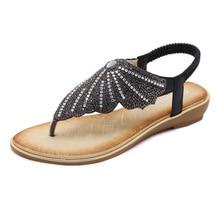 Women Sandals Plus Size 35-42 Summer Beach Shoes for Women 2019 Flip Flop Chaussures Femme Crystal Gladiator Sandals Women все цены
