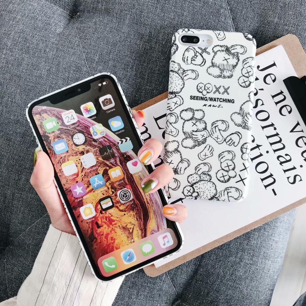 IMIDO For Huawei p20 p20pro p30 p30pro mate20 mate20pro CasesThe Black Water Pasting PC Case New Anti fall Fashion Phone Cases in Half wrapped Cases from Cellphones Telecommunications