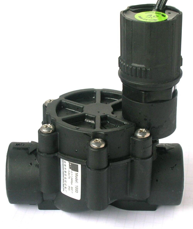Bewässerungssystem 1 zoll Automatische Sprinkler magnet elektroventil mit Durchflussregelung