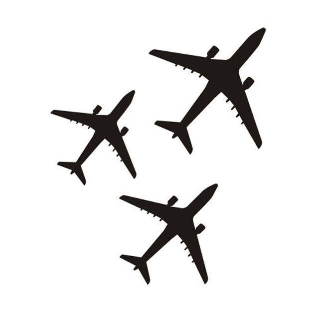C020 Три самолета самолет самолетни - Декор за дома - Снимка 3