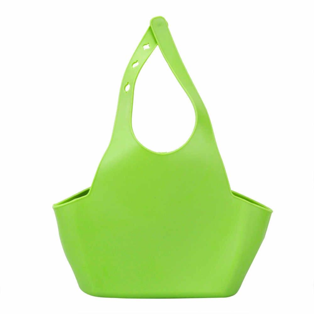 Корзины Портативный дома Кухня висит дренажный мешок корзина для ванной инструменты раковина держатель популярные полезно для хранения # K4