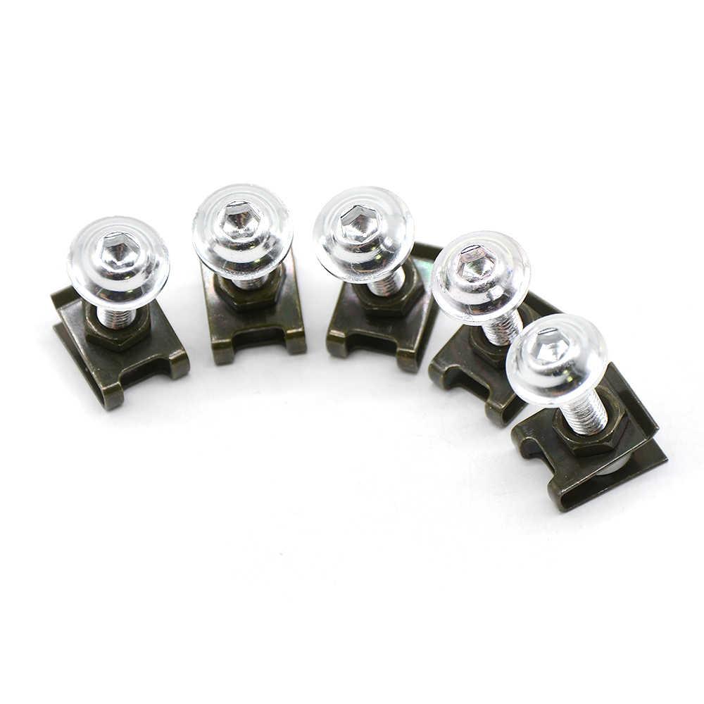Pour BMW K1200R K1300 S/R/GT SPORT K1200S K1300R 5 pièces 6mm moto vis corps carénage