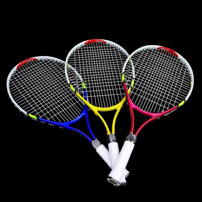 Professional Single Tennis Racket Men Women Training Competition Tennis Racket For Beginner Tennis Training Practice
