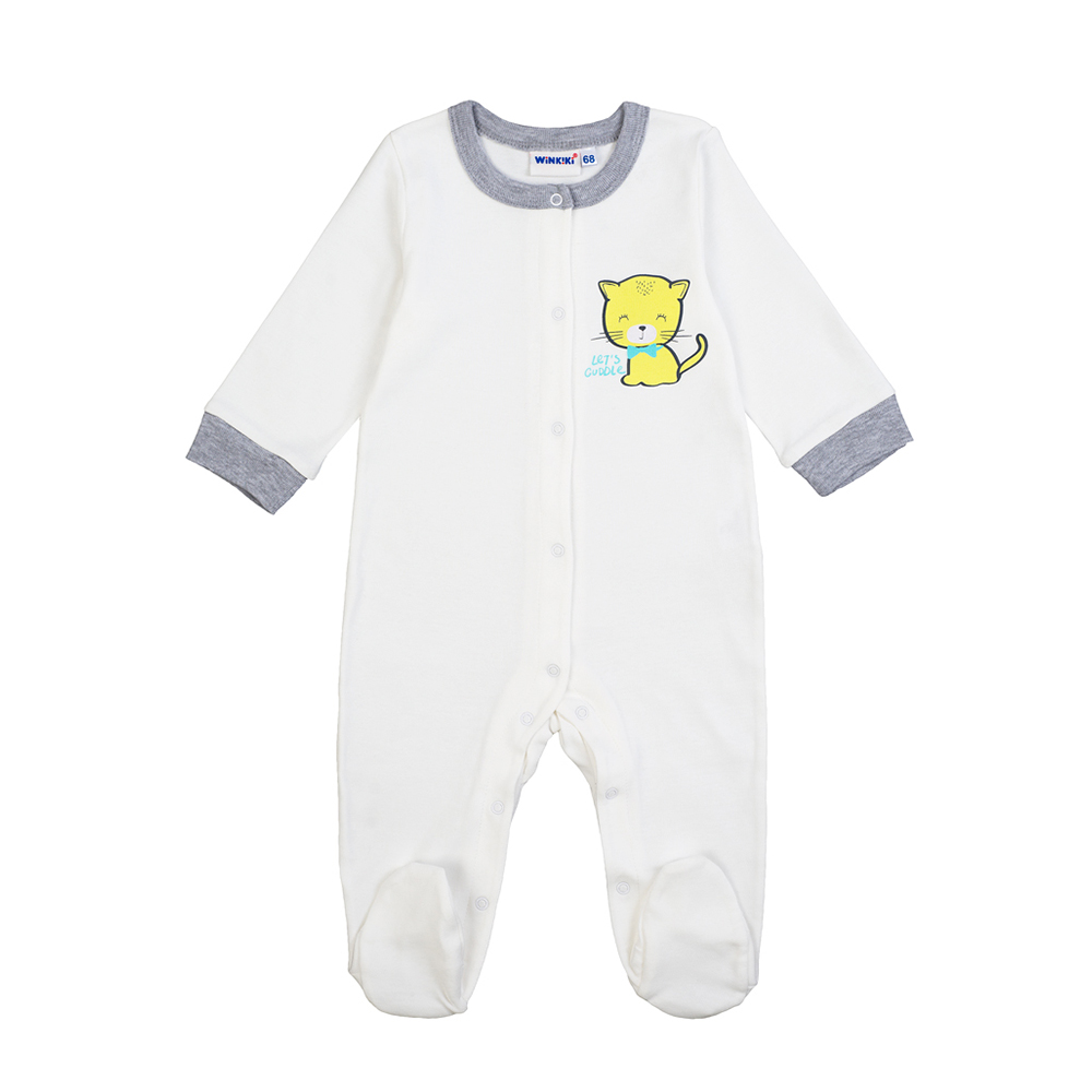 Rompers Winkiki for boys and girls WN81003 Baby Jumpsuit Overalls Children clothes Kids mini kawaii plush stuffed animal cartoon kids toys for girls children baby birthday christmas gift angela rabbit metoo doll
