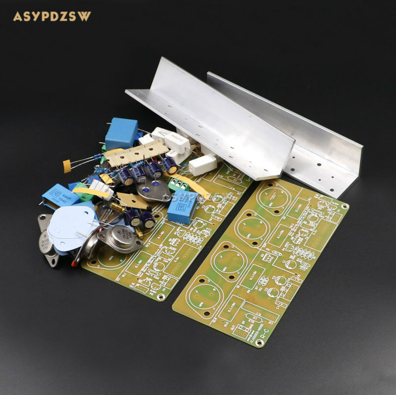 2 PCS HOOD JLH2003 Class A Single ended power amplifier DIY Kit 2 channel 22W 22W