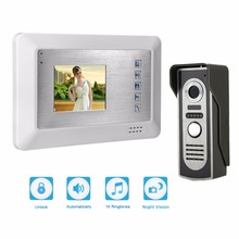3.5″ Color Video Door Phone Video Intercom Door Intercom Doorphone IR Night Vision Camera Doorbell Kit for Apartment