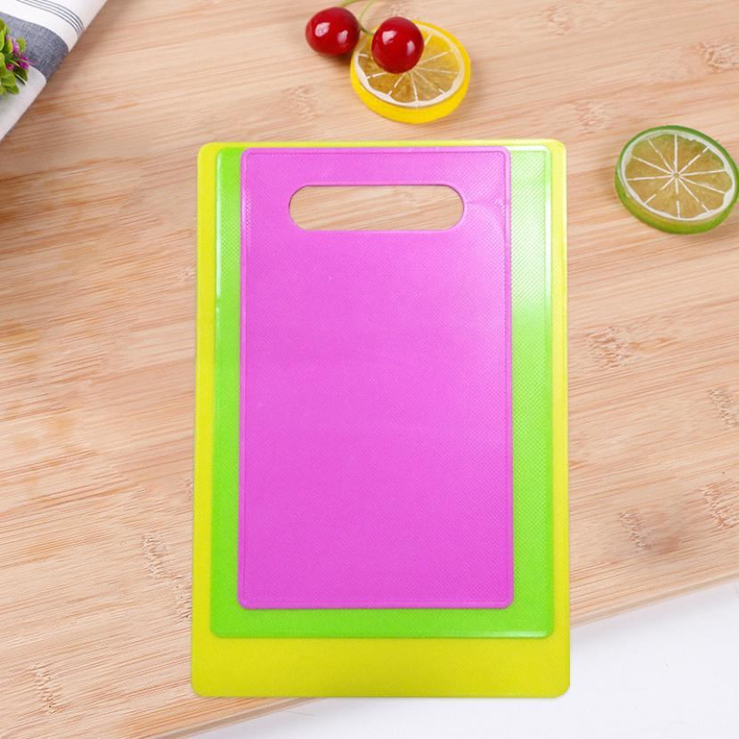 2018 NEW FASHION Cutting Board Non - slip Fruit Rubbing Panel Kitchen Baby Table Mat 0605