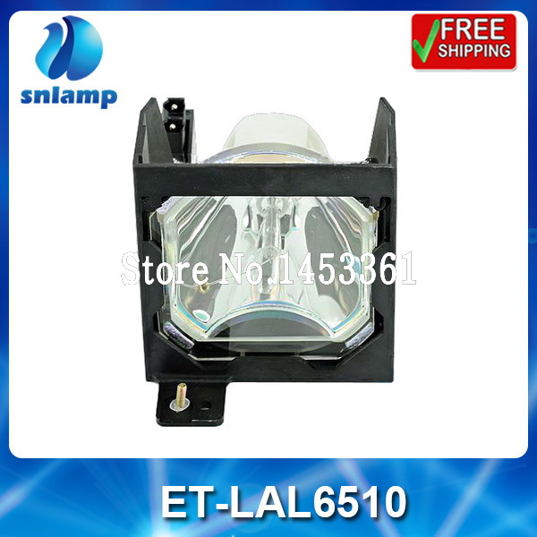 Replacement projector lamp bulb with housing ET-LAL6510 for PT-L6500/L6510/L6600 original projector bulb lamp with housing et lad60wc for pt d5000 d6000elk d6000uls d6710 dw530 dw6300 dw730els