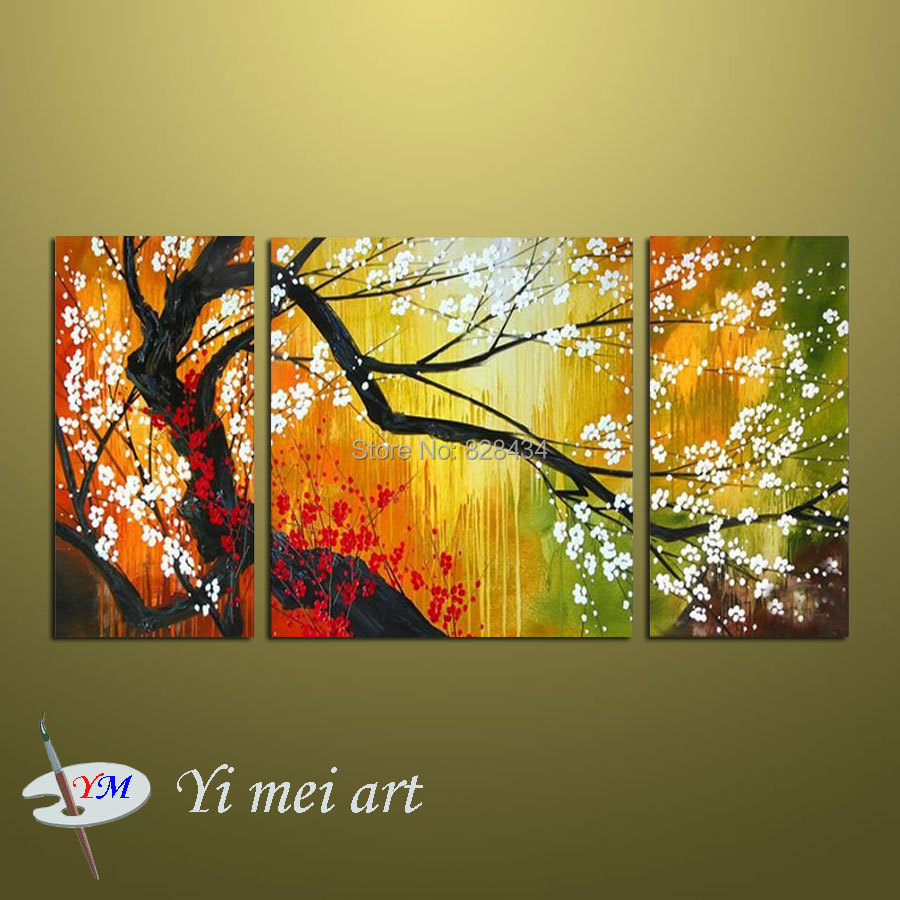 Free shipping.Hand painted abstract oil paintings \
